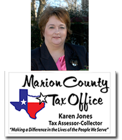 Karen Jones, Tax Assessor/Collector